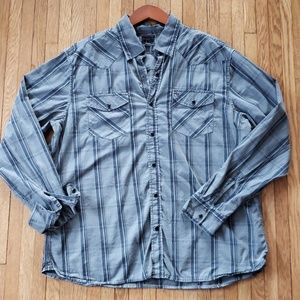 Converse Snap Button Shirt